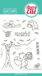 Avery Elle - Clear Stamps - Falling For You