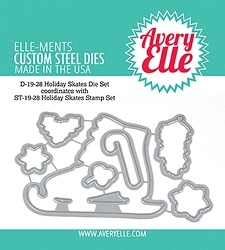 Avery Elle - Elle-ments Dies - Holiday Skates