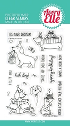 Avery Elle - Clear Stamps - Hot Dog