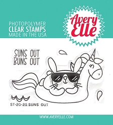 Avery Elle - Clear Stamps - Suns Out