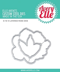 Avery Elle - Elle-ments Dies - Layered Rose