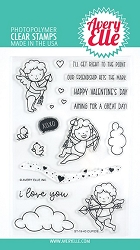 Avery Elle - Clear Stamps - Cupids