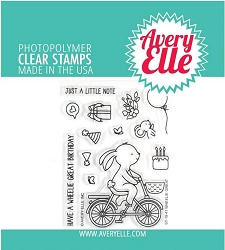 Avery Elle - Clear Stamps - Wheelie Great