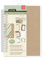 Basic Grey - Capture Collection - 5x7 Spiral Journal - Ledger