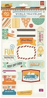 Basic Grey - Carte Postale Collection - Title Stickers