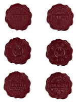 Basic Grey - Clippings Collection - Wax Seals