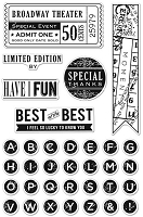 Hero Arts Clear Stamp - Basic Grey Clippings Collection - Best of the Best