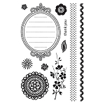 Basic Grey Nook and Pantry - Clear Stamp - Crumpets