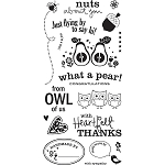 *Basic Grey Pyrus - Clear Stamp - What a Pear