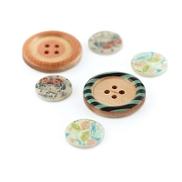 Basic Grey - Serenade Collection - Eclectic Buttons