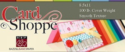 Bazzill Card Shoppe (heavy weight smooth cardstock) (12x12)