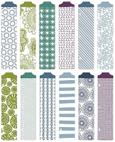 Becky Higgins - Project Life  - 12/Pk Designer Dividers - Rain Edition