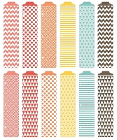 Becky Higgins - Project Life  - 12/Pk Designer Dividers - Kraft Edition