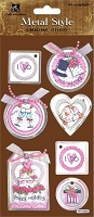 Best Creation - Metal Tag Stickers - I Do Tags