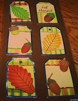 Best Creation - Metal Tag Stickers - Autumn Harvest