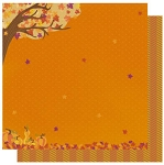 Best Creations-Hello Fall-Glittered Paper-Fall Foliage