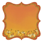Best Creations-Hello Fall-Glittered Die Cut Paper-Squished Squash