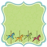 Best Creation - Loops and Scoops - Merry Go Round Die Cut