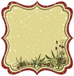 Best Creations- Merry Christmas-Die Cut Glittered Paper-Christmas Joy