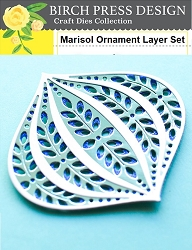 Birch Press - Cutting Die - Marisol Ornament Layer Set