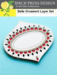 Birch Press - Cutting Die - Belle Ornament Layer Set