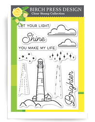 Birch Press - Clear Stamp - Let Your Light Shine