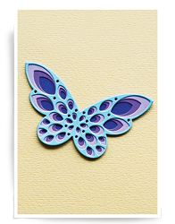 Birch Press - Cutting Die - Sparkler Butterfly Layer Set