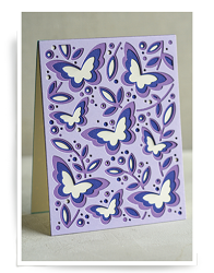 Birch Press - Cutting Die - Butterfly Garden Layer Set