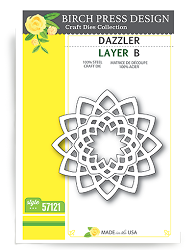 Birch Press - Cutting Die - Dazzler Layer B