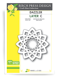 Birch Press - Cutting Die - Dazzler Layer C