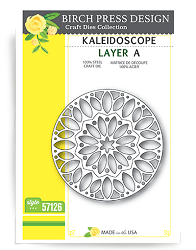 Birch Press - Cutting Die - Kaleidoscope Layer A