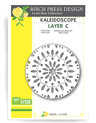 Birch Press - Cutting Die - Kaleidoscope Layer C