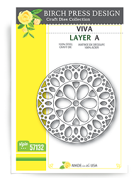 Birch Press - Cutting Die - Viva Layer A