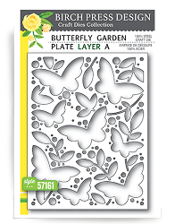 Birch Press - Cutting Die - Butterfly Garden Layer A