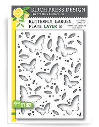 Birch Press - Cutting Die - Butterfly Garden Layer B