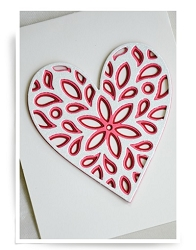Birch Press - Cutting Die - Fiori Heart Layer Set (3 dies)