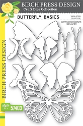 Birch Press - Cutting Die - Butterfly Basics