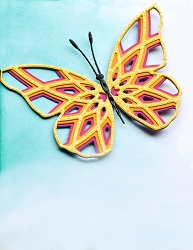 Birch Press - Cutting Die - Starlight Butterfly Layer Set (wings only)