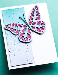 Birch Press - Cutting Die - Eloquent Butterfly Layer Set (wings only)