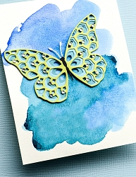 Birch Press - Cutting Die - Glimmer Butterfly Layer Set (wings only)