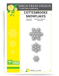 Birch Press - Cutting Die - Cottesbrooke Snowflakes