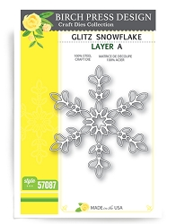 Birch Press - Cutting Die - Glitz Snowflake Layer A