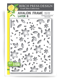 Birch Press - Cutting Die - Avalon Layer B