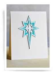 Birch Press - Cutting Die - Nativity Star Layer Set