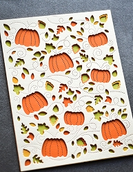 Birch Press - Cutting Die - Autumn Breeze Plate Layer Set