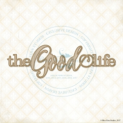 Blue Fern Studios - Chipboard - The Good Life