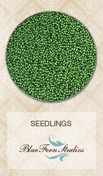 Blue Fern Studios - Seedlings Micro Beads - Green Leaf (1oz)