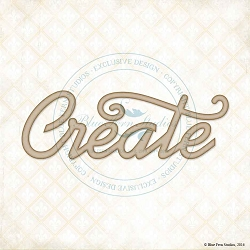 Blue Fern Studios - Chipboard - Create