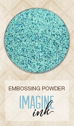 Blue Fern Studios - Imagine Ink Embossing Powder - Speckled Mint (1oz)
