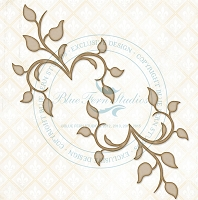 Blue Fern Studios - Chipboard - Chelsea Vines